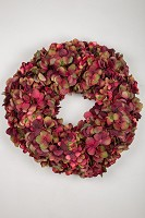 Hydrangea Wreath 46cm