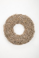 Dry Tree Wreath in Poly 48 cm
