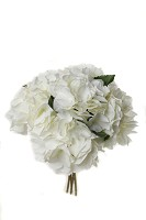 Hydrangea Bouquet w/5 lvs 26cm