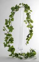 Med. Grape Leaf Garland w/171lvs 180cm