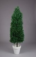 Plastic Pin Topiary in Pot 150cm