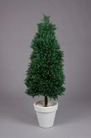 Plastic pine Topiary 120cm
