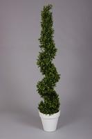Plastic Boxwood Spiral Tree 150cm