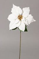 Single Christmas Poinsettia 65cm